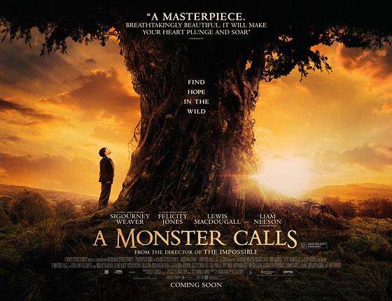دانلود زیرنویس فارسی فیلم A Monster Calls 2016