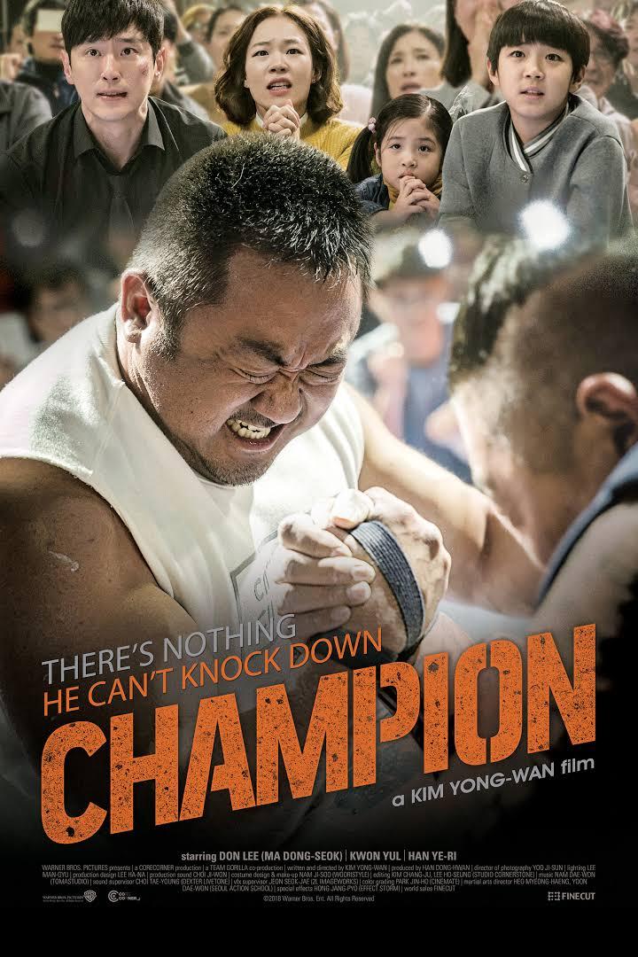 دانلود زیرنویس فارسی فیلم Champion 2018